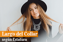 Largo del Collar según tu Estatura
